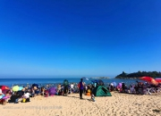 """汕尾的红海湾,被誉为""""广东最美的十大海滩之一"""""""