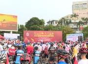 """1000多人""""踏脚车""""环游陆丰 陆丰举办2019环陆丰百公里骑行活动"""