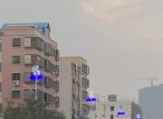 海丰县城二环路的路灯换新了