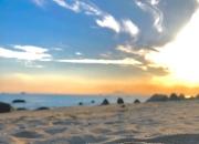 打卡陆丰最热海滩 金厢观音岭银滩