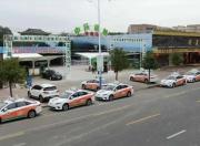 海丰首批纯电动出租车投入试运营