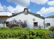陆丰下埔村用墙绘壁画讲述红色故事