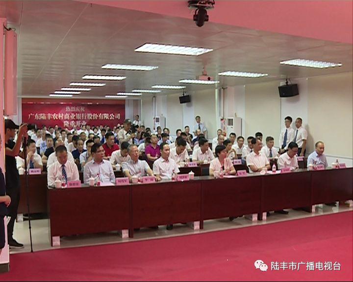 广东陆丰农村商业银行股份有限公司挂牌开业 陆丰新闻 第2张