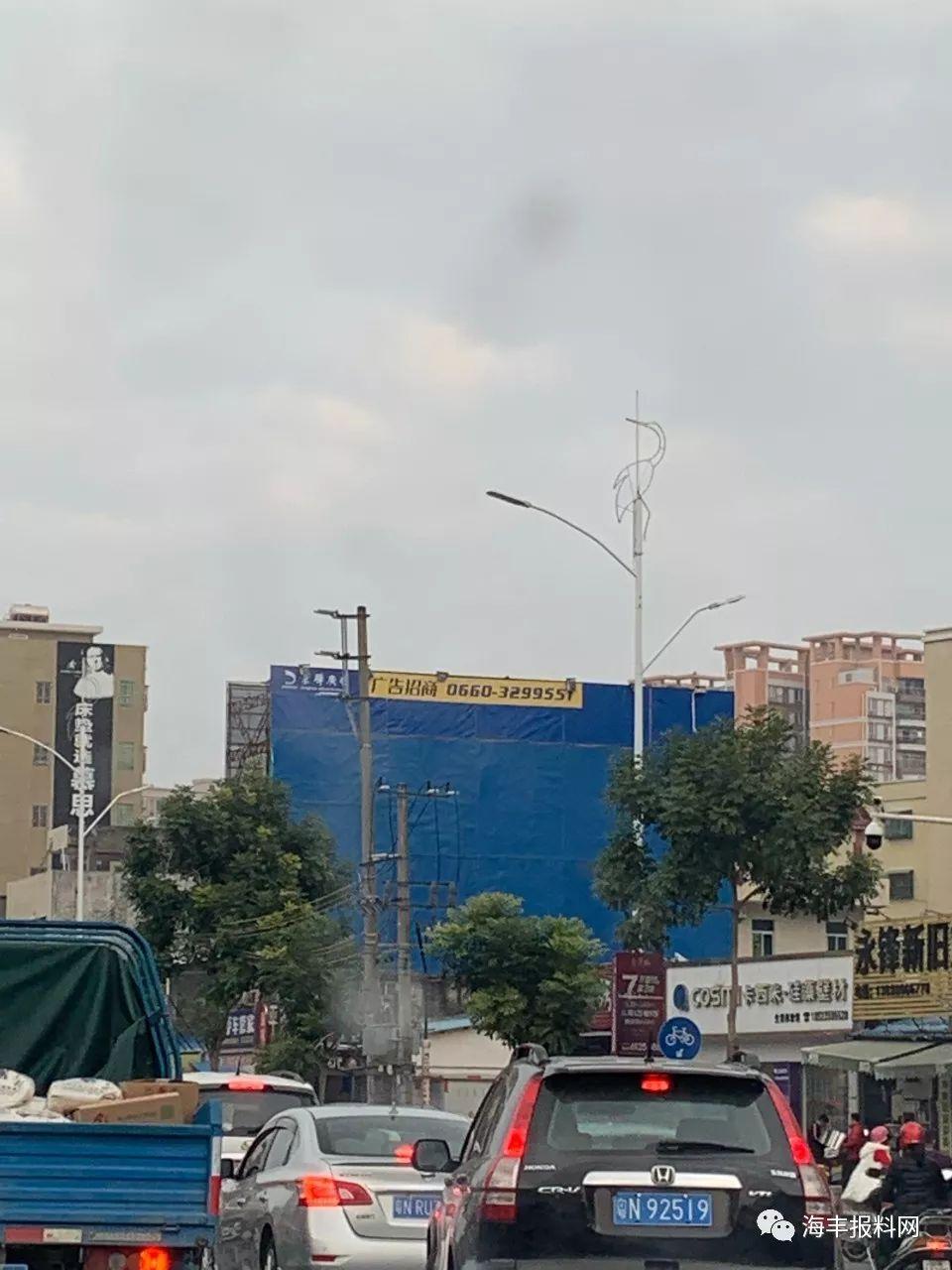 海丰县城二环路的路灯换新了 海丰新闻 第4张
