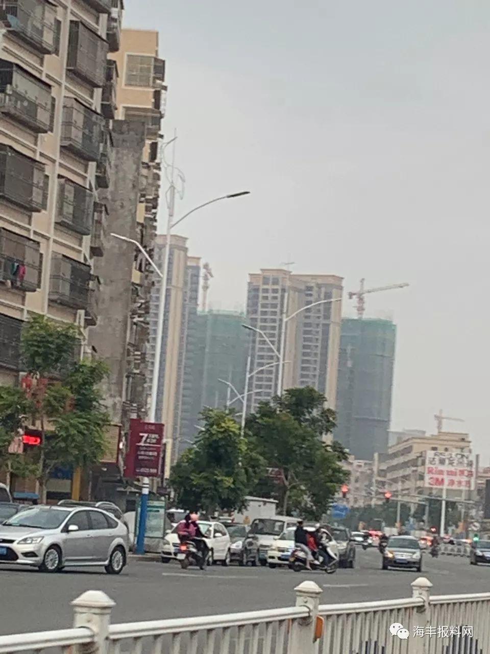 海丰县城二环路的路灯换新了 海丰新闻 第5张