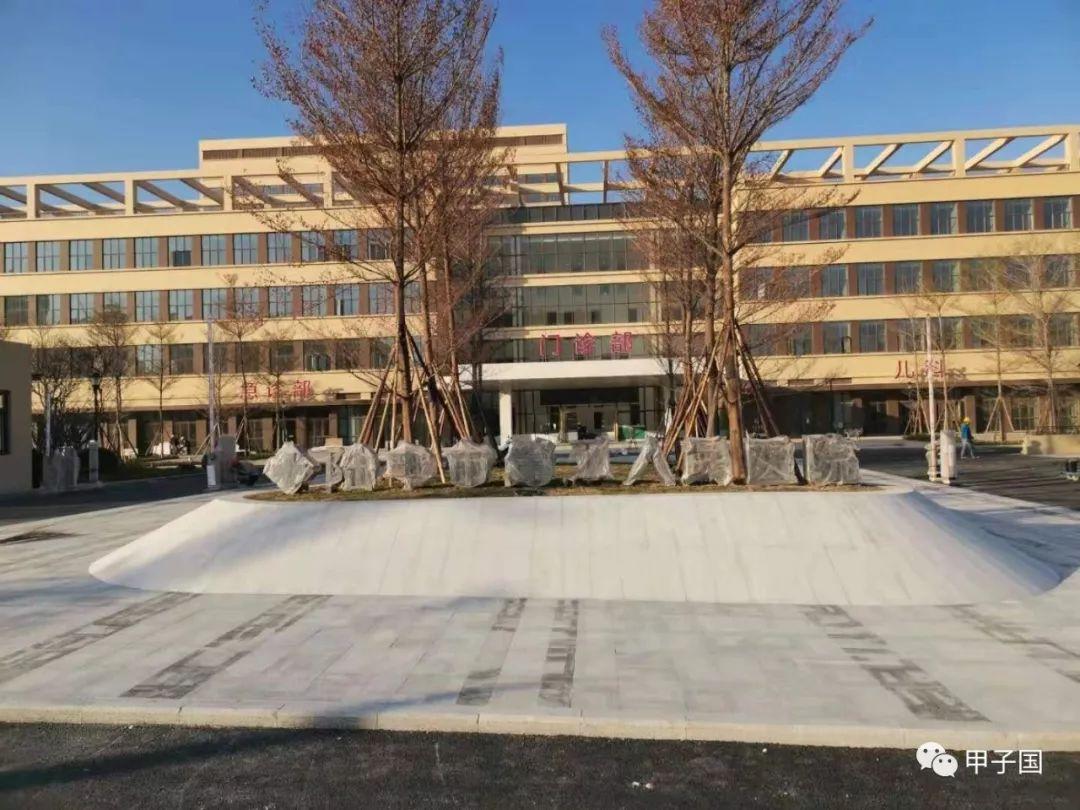 陆丰市第二人民医院(甲子人民院)即将完工 陆丰新闻 第1张