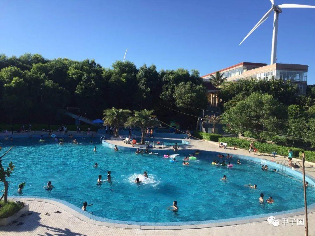 陆丰甲东大雷岛度假村游泳池已经开放 陆丰新闻 第2张