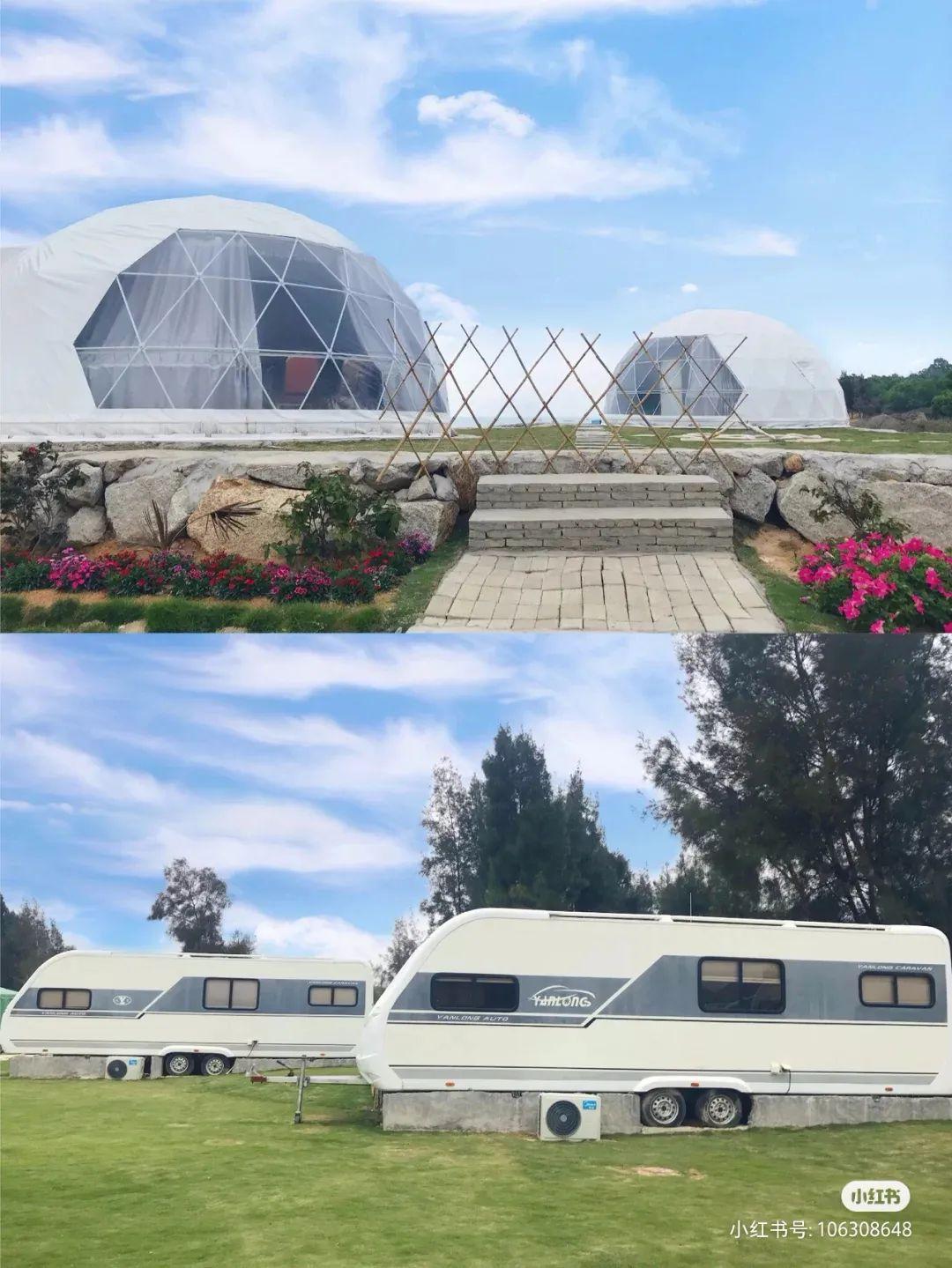 陆丰浅澳沙滩区的房车营地 背靠大海非常美 汕尾吃喝玩乐 第4张