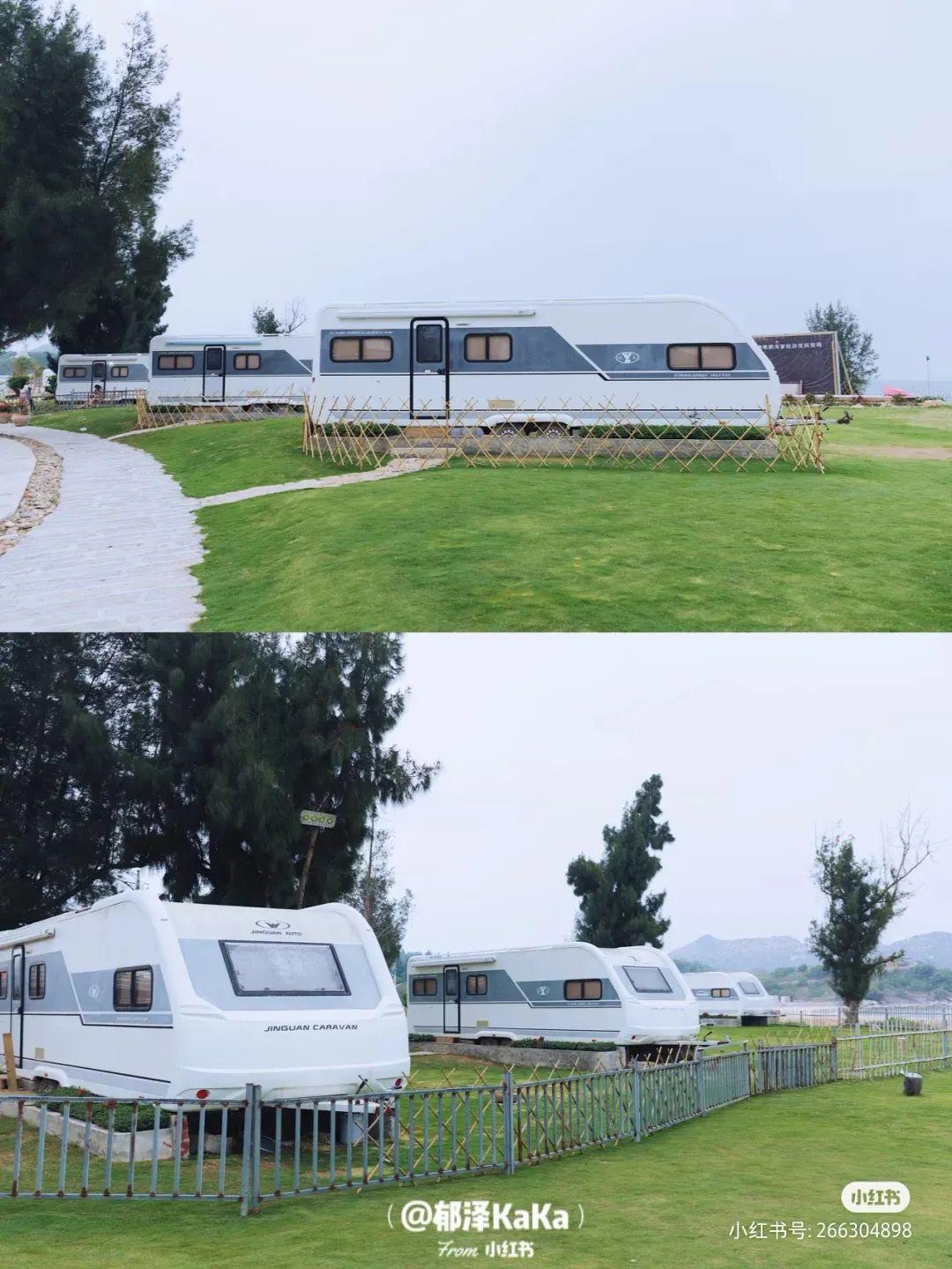 陆丰浅澳沙滩区的房车营地 背靠大海非常美 汕尾吃喝玩乐 第6张