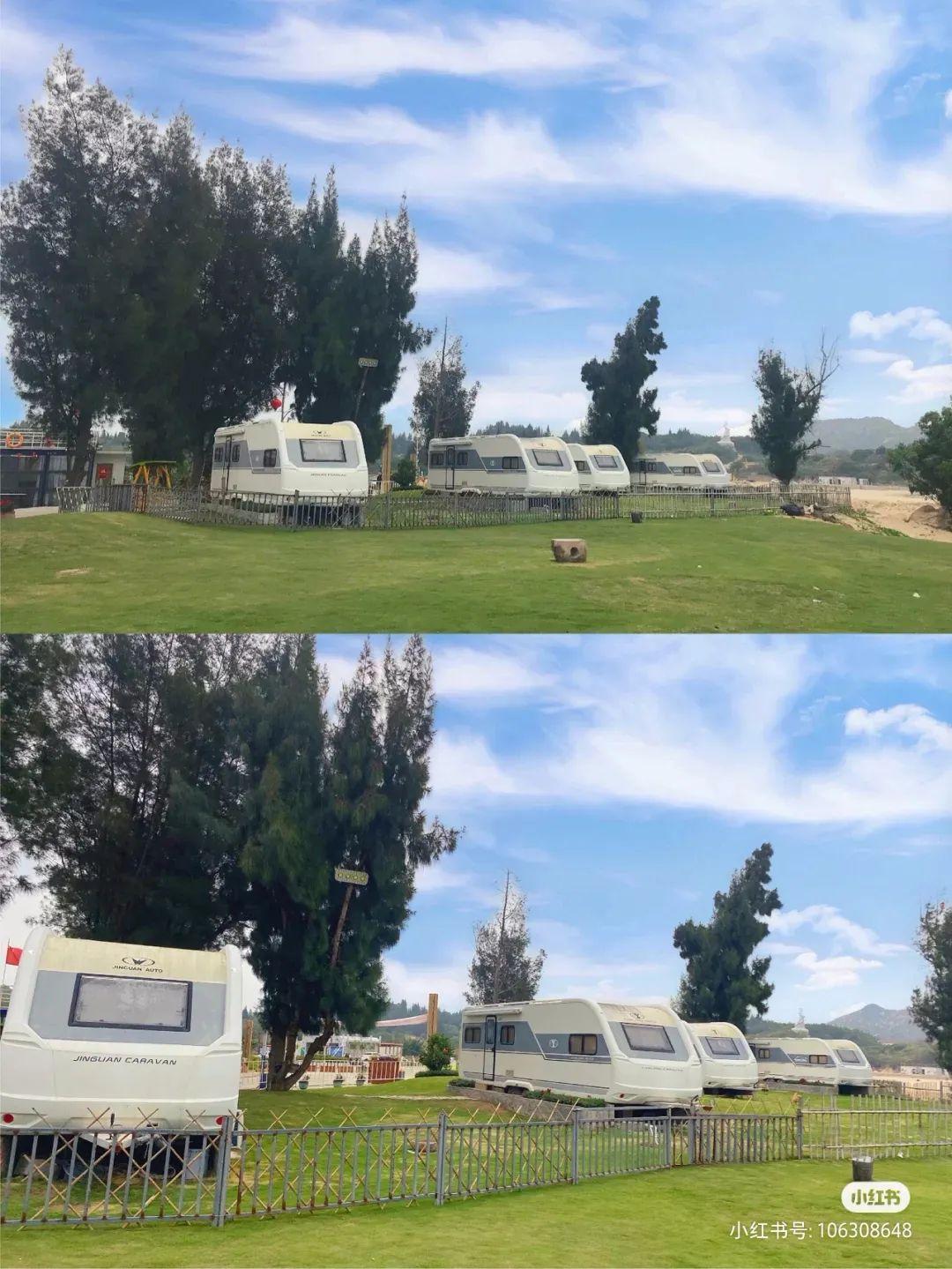 陆丰浅澳沙滩区的房车营地 背靠大海非常美 汕尾吃喝玩乐 第5张