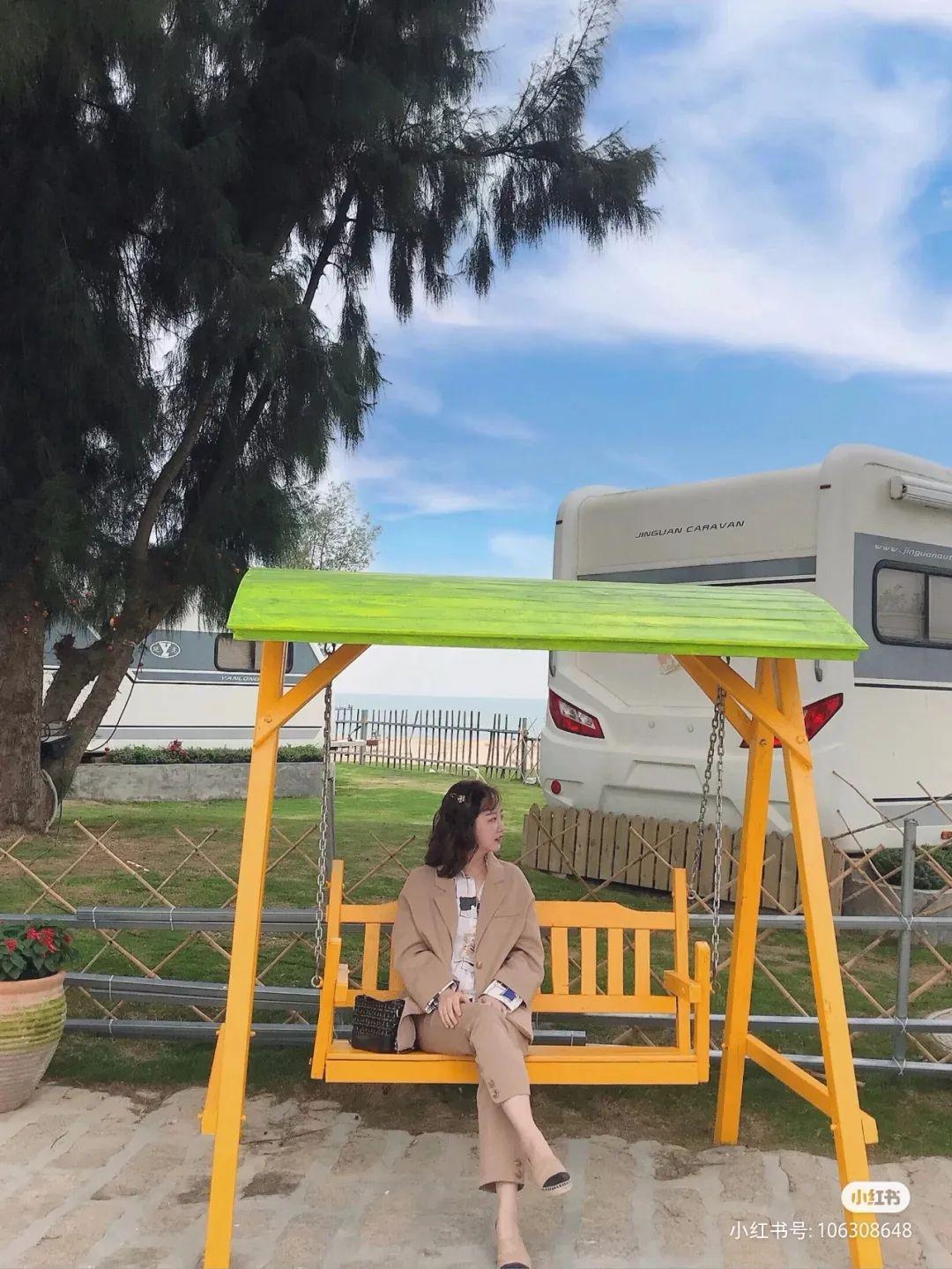 陆丰浅澳沙滩区的房车营地 背靠大海非常美 汕尾吃喝玩乐 第8张
