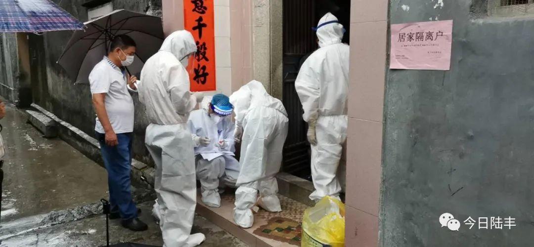 陆丰市博美镇开展疫情防控工作 陆丰新闻 第1张