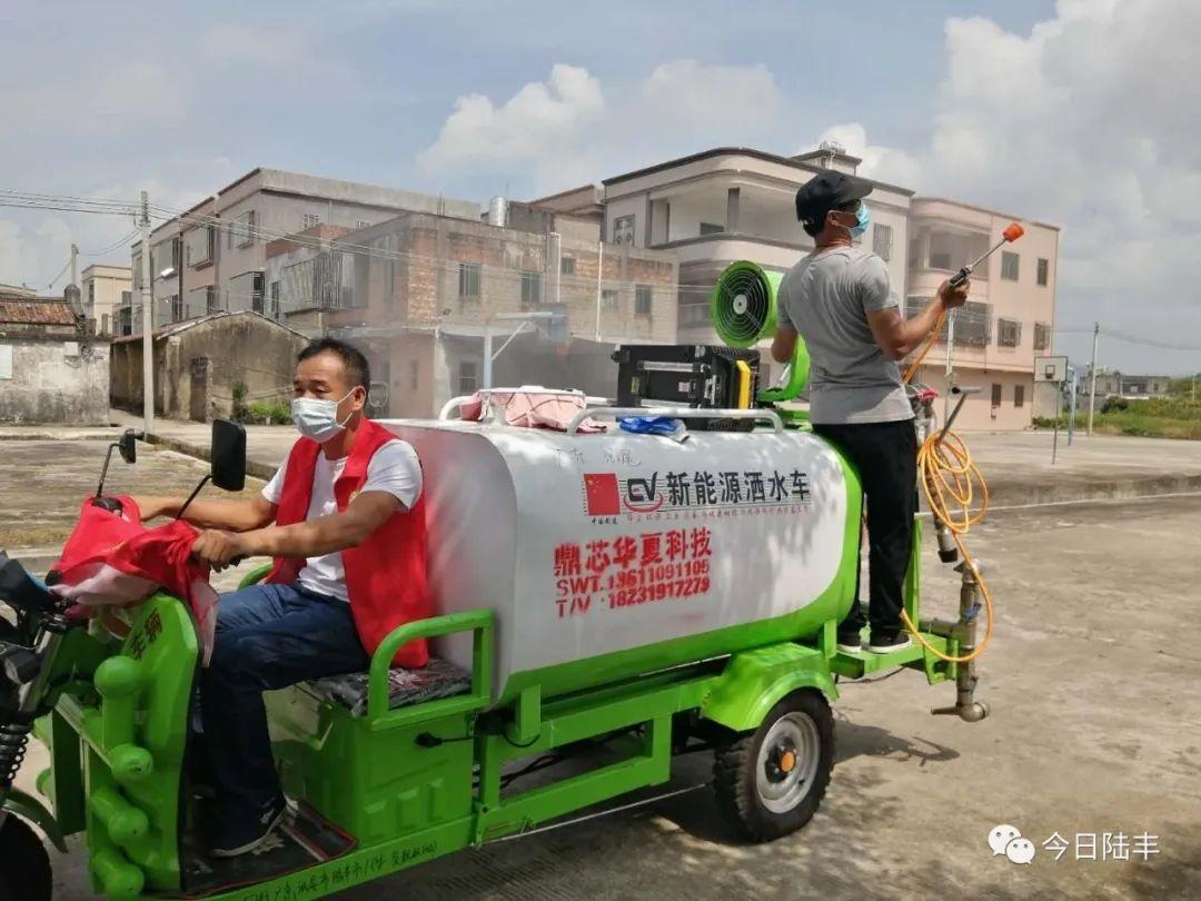 陆丰市博美镇开展疫情防控工作 陆丰新闻 第5张