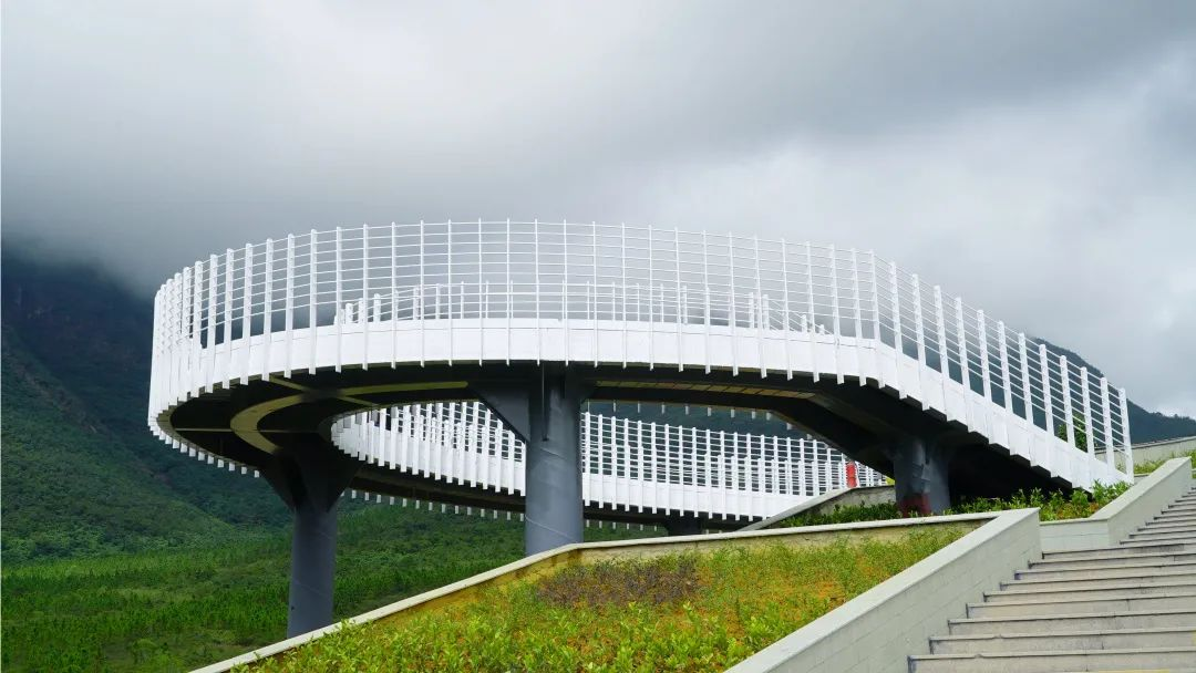 海丰莲花山观景台已基本完工 可供270°观景 海丰新闻 第2张