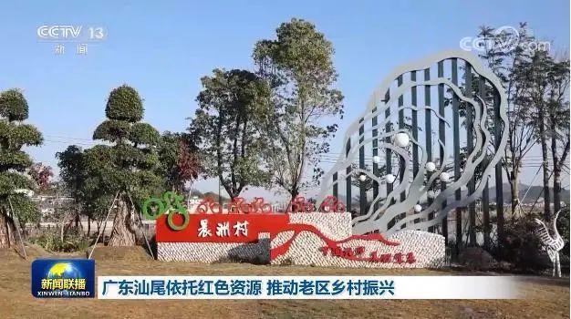《新闻联播》:汕尾依托红色资源 推动老区乡村振兴 汕尾新闻 第3张