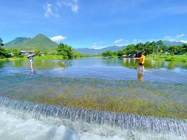 海丰最美的山水静地 洋公坝迎来丰水期 海丰新闻 第3张