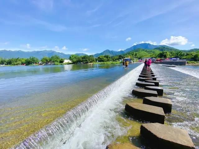 海丰最美的山水静地 洋公坝迎来丰水期 海丰新闻 第1张